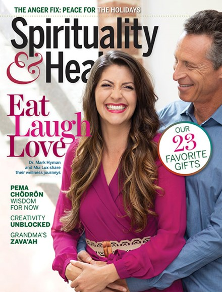 Spirituality & Health Cover - 11/1/2019