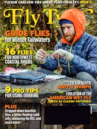 Fly Tyer Magazine   12/2019 Cover