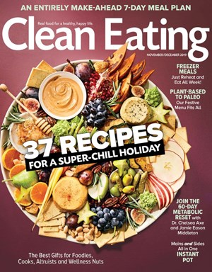 Clean Eating Magazine | 11/2019 Cover