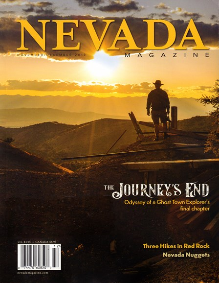 Nevada Magazine Cover - 11/1/2019