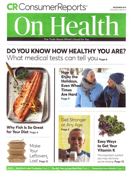 Consumer Reports On Health Cover - 12/1/2019