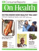 Consumer Reports On Health Magazine 12/1/2019