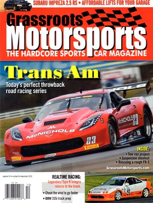 Grassroots Motorsports Magazine | 12/2019 Cover