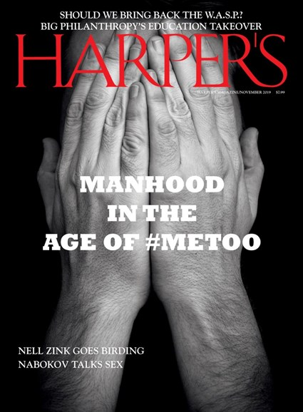 Harper's Cover - 11/1/2019