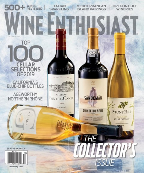 Wine Enthusiast Cover - 12/1/2019