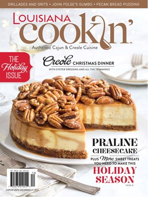 Louisiana Cookin' Magazine | 11/2019 Cover