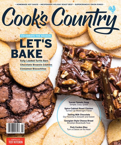 Cook's Country Cover - 12/1/2019