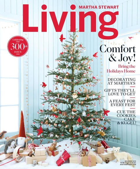 Martha Stewart Living Cover - 12/1/2019