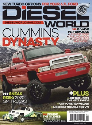 Diesel World Magazine | 1/2020 Cover