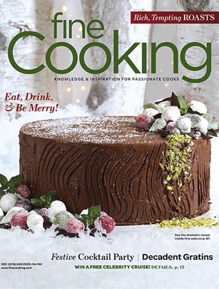 Fine Cooking Cover - 12/1/2019