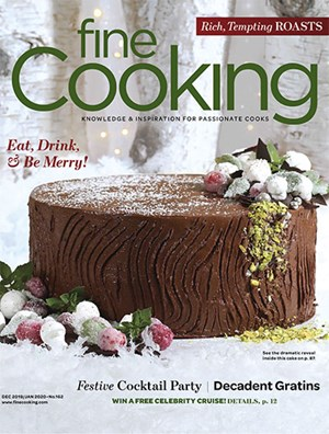Fine Cooking Magazine | 12/2019 Cover