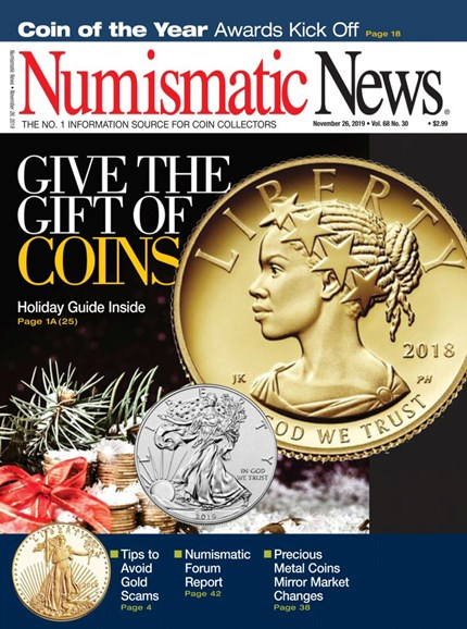 Numismatic News Cover - 11/26/2019