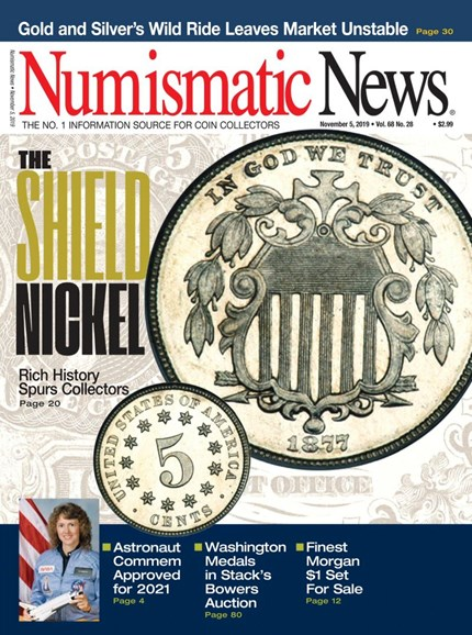 Numismatic News Cover - 11/5/2019