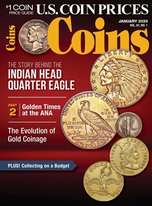 Coins Magazine | 1/2020 Cover
