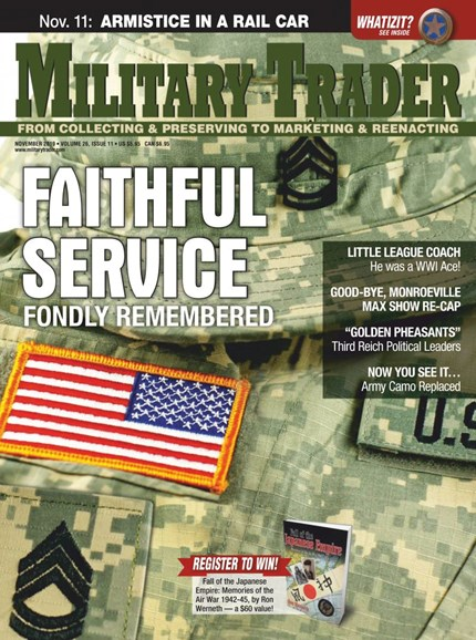 Military Trader Cover - 11/1/2019