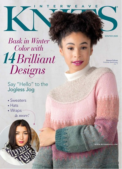 Interweave Knits Magazine | 1/2020 Cover