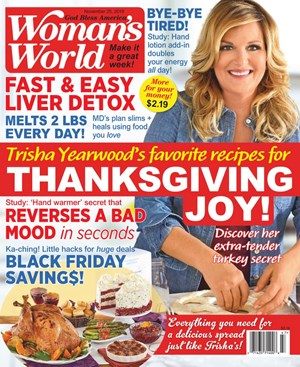 Woman's World Magazine | 11/25/2019 Cover