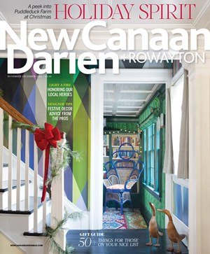 New Canaan Darien Magazine | 11/2019 Cover