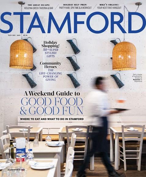 Stamford Magazine Cover - 11/1/2019