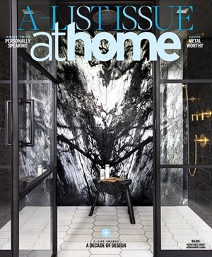 At Home in Fairfield County Magazine | 11/2019 Cover