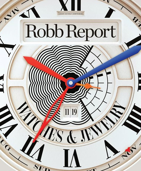 Robb Report Cover - 11/1/2019