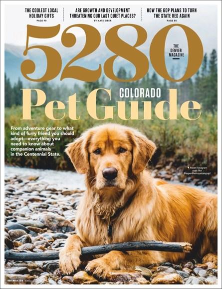 5280 Magazine Cover - 11/1/2019
