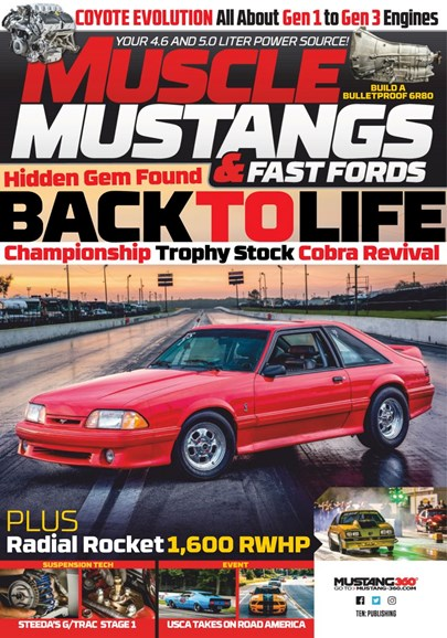 Muscle Mustangs & Fast Fords Cover - 1/1/2020