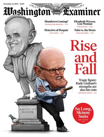 Washington Examiner Cover - 11/12/2019