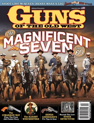Guns Of The Old West Magazine | 1/2020 Cover