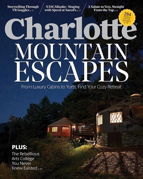 Charlotte Magazine Cover - 11/1/2019