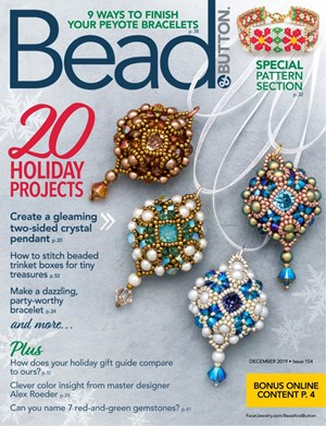 Bead & Button Magazine   12/2019 Cover