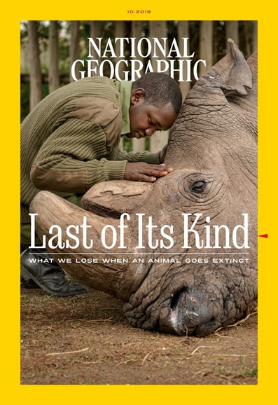 National Geographic Cover - 10/1/2019