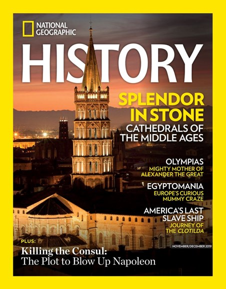 National Geographic History Cover - 11/1/2019