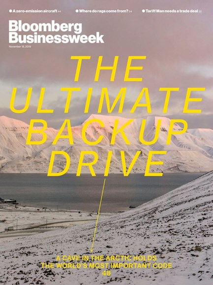 Bloomberg Businessweek Cover - 11/18/2019