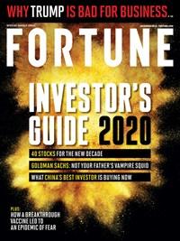 Fortune Magazine   12/1/2019 Cover