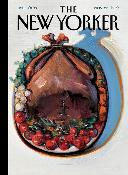 The New Yorker Cover - 11/25/2019