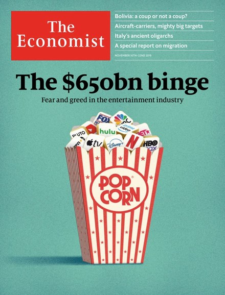 The Economist Cover - 11/16/2019