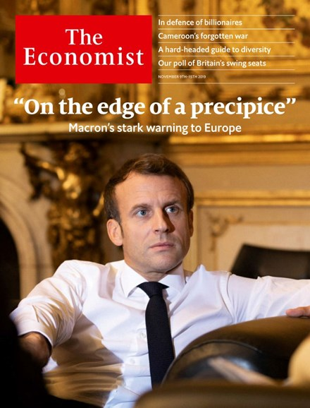 The Economist Cover - 11/9/2019