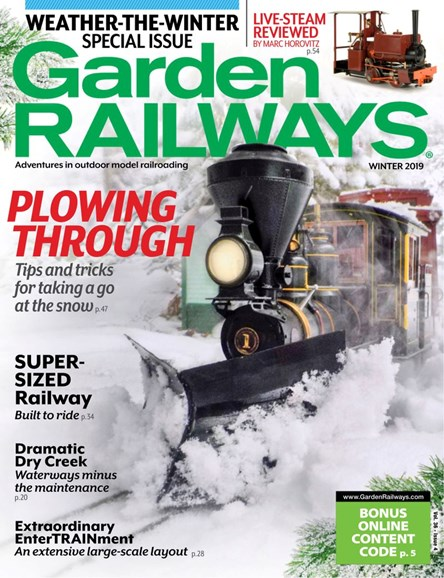 Garden Railways Cover - 12/1/2019