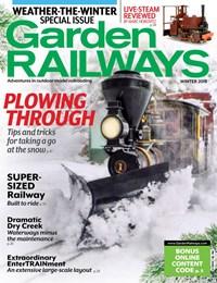 Garden Railways Magazine   12/2019 Cover