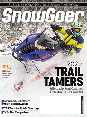 Snow Goer Magazine | 12/2019 Cover