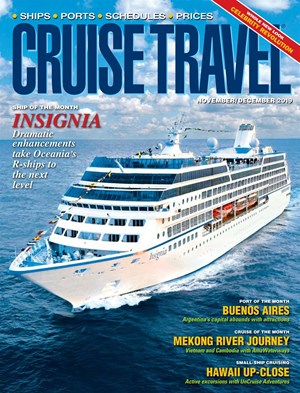 Cruise Travel Magazine | 11/2019 Cover