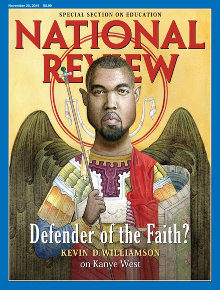 National Review Cover - 11/25/2019