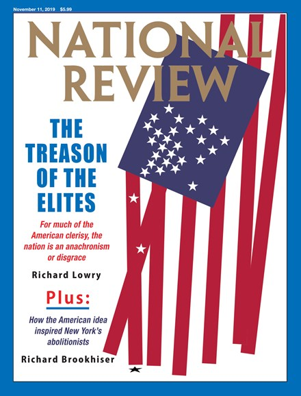 National Review Cover - 11/11/2019