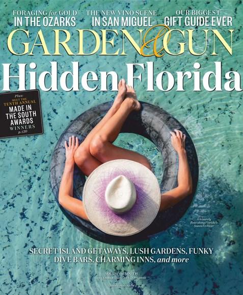 Garden & Gun Cover - 12/1/2019