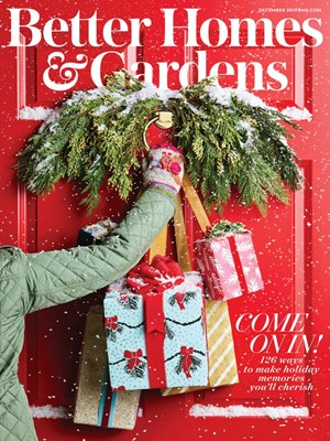 Better Homes & Gardens Magazine | 12/1/2019 Cover