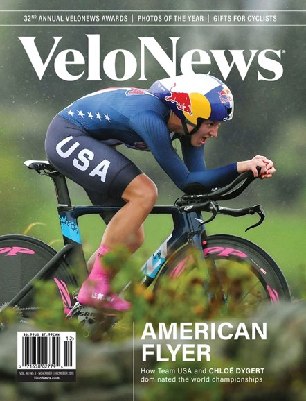 VeloNews Cover - 11/1/2019