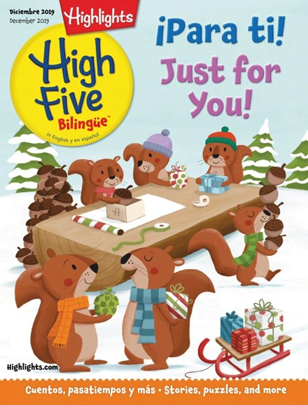 Highlights High Five Bilingue Cover - 12/1/2019