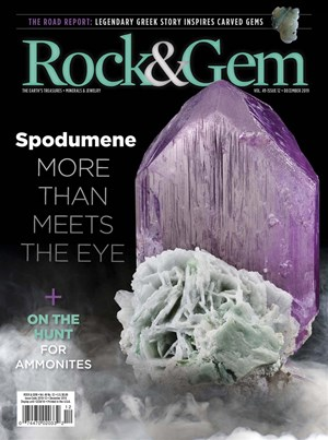 Rock and Gem Magazine   12/2019 Cover
