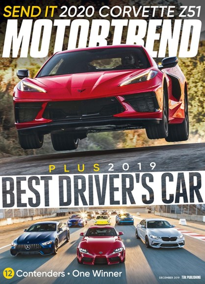 Motor Trend Cover - 12/1/2019